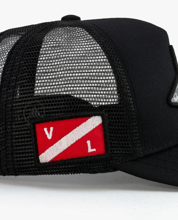 Trucker Hat Shark Detalle