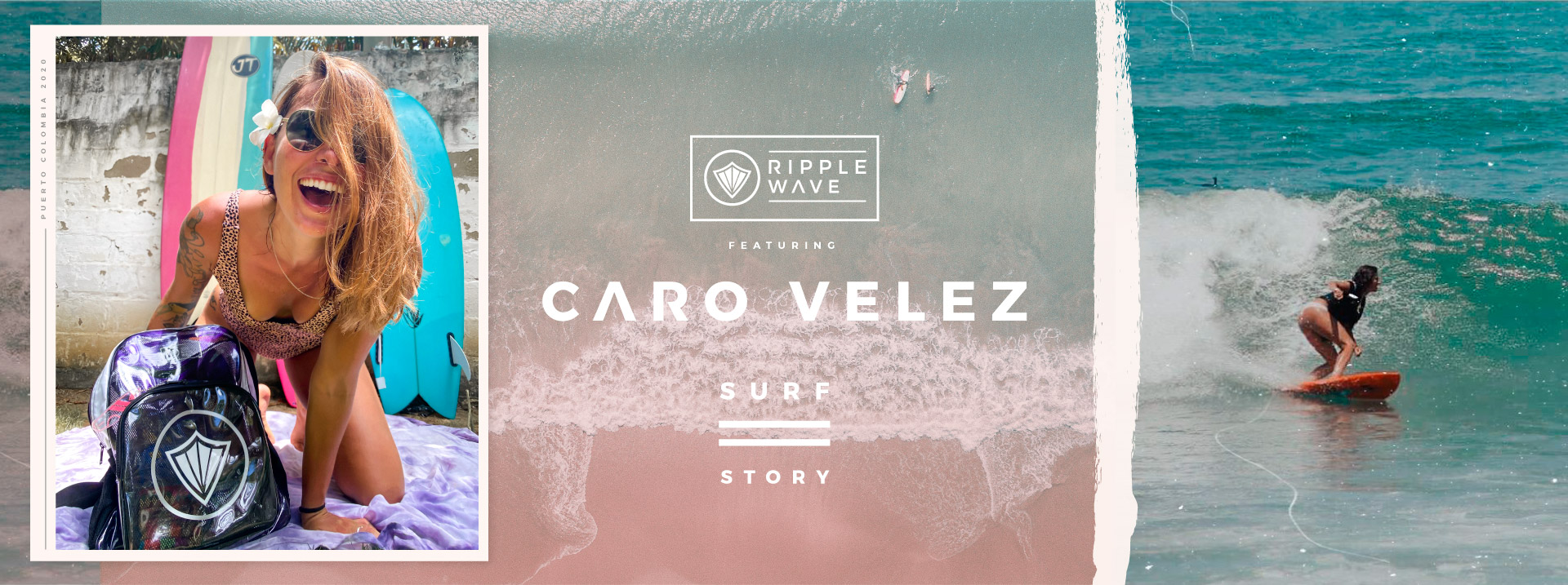 Carolina Velez Surf Portada